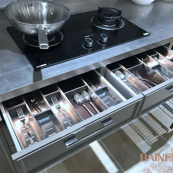 Aup Cel stainless steel kitchen cabinet Model No. AC01 04
