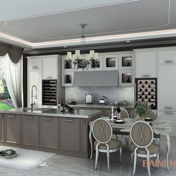 Custom metal kitchen cabinet from china kitchen cabinet factory