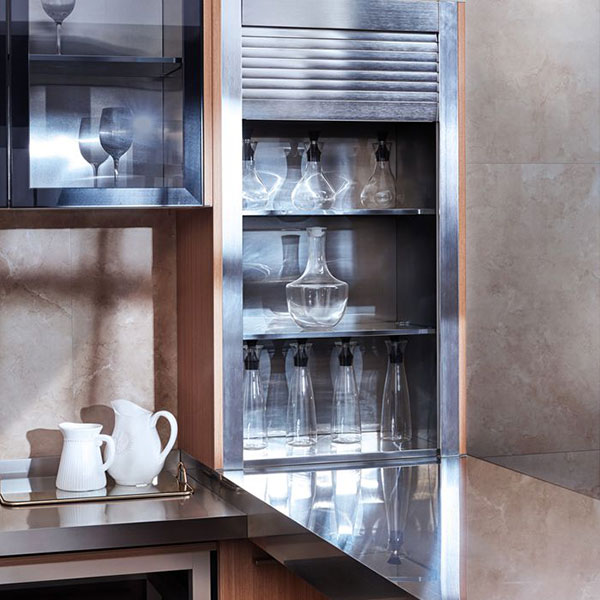 Fashionable stainless steel kitchen cabinet Model No. FS03 04