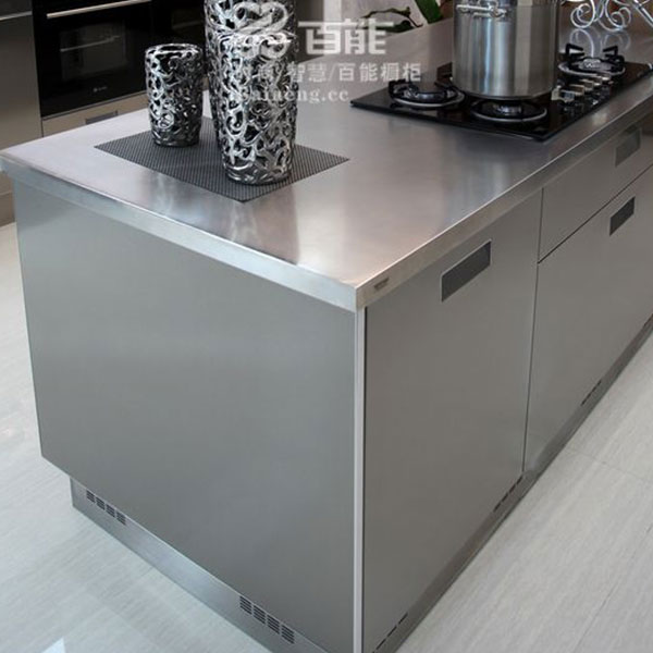 Fashionable stainless steel kitchen cabinet Model No. FS04 04