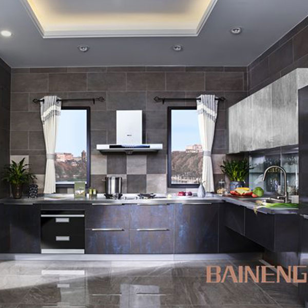 High gloss kitchen cabinet for sale with glass kitchen cabinet door
