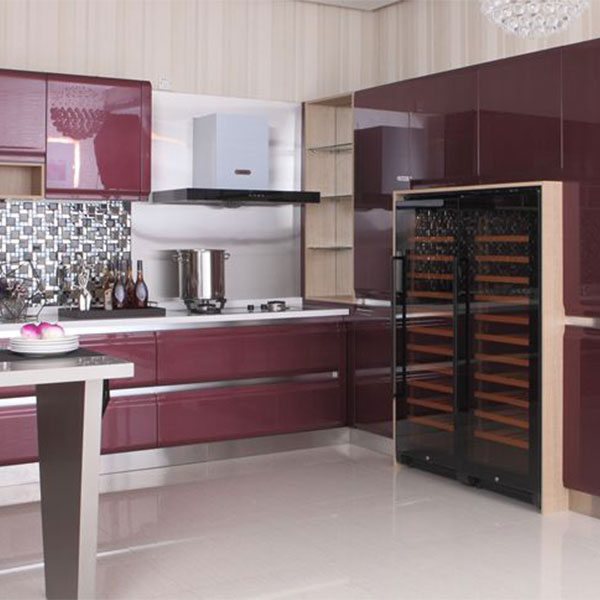 high gloss lacquer kitchen cabinets | Modern high gloss lacquer kitchen cabinet Model No. LQ02