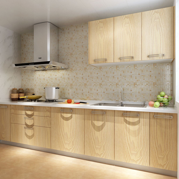 simple design new model kitchen cabinet from china kitchen cabinet factory