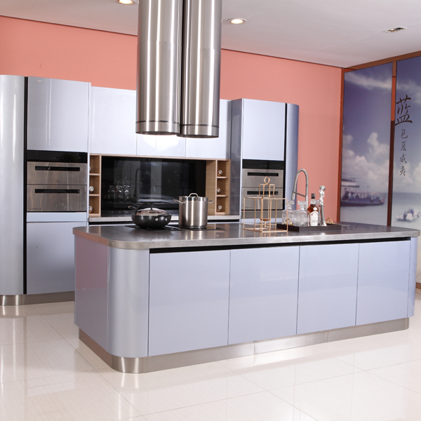 High quality kitchen cabinet from stainless steel kitchen cabinet manufacturer