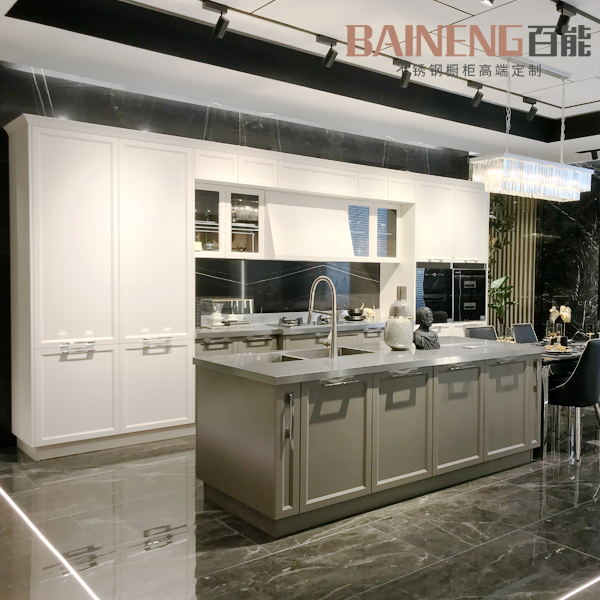 new Chinese style kitchen furniture from stainless steel kitchen cabinet supplier