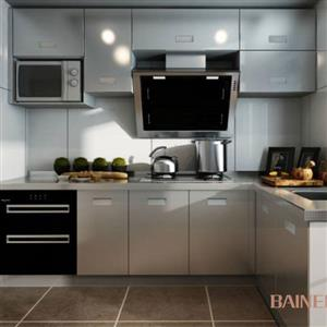Fashionable stainless steel kitchen cabinet Model No. FS04