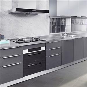 Modern acrylic veneer kitchen cabinet Model No.: AY02