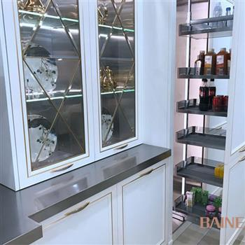 Aup Cel stainless steel kitchen cabinet Model No. AC02 04