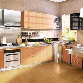 Fashionable stainless steel kitchen cabinet Model No. FS03