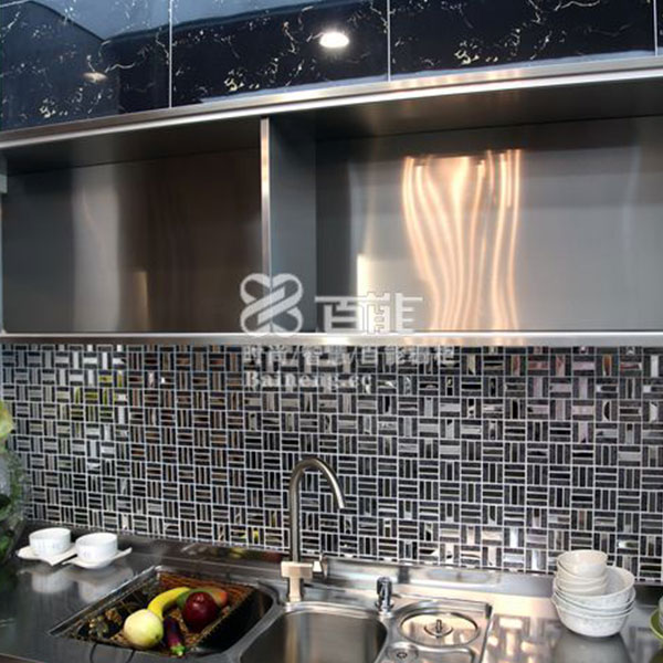 Fashionable stainless steel kitchen cabinet Model No. FS04 03
