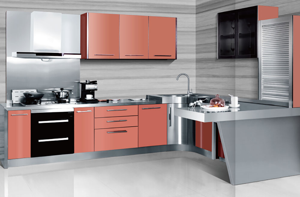 Products show of Baieng kitchen cabinet 08