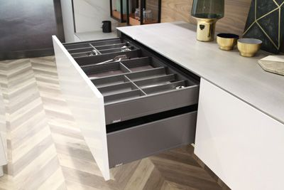 stainless steel cabinet storage