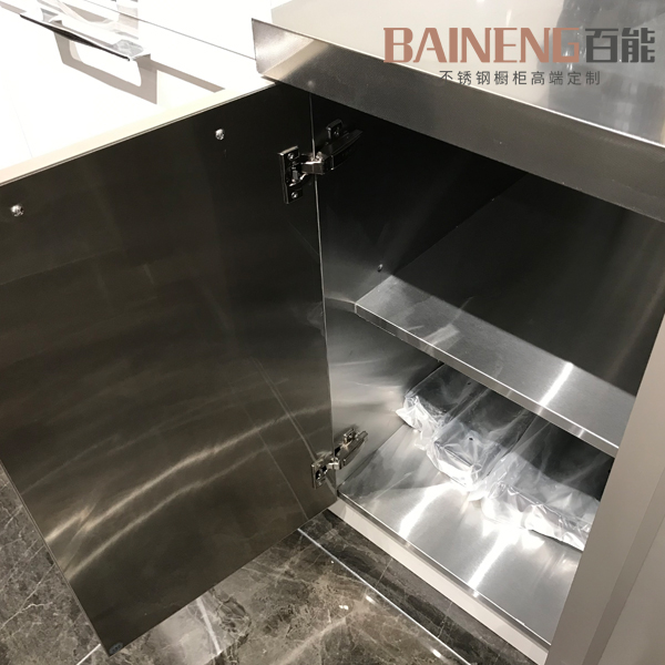 Kitchen Cabinet Supplier: New Chinese Style Kitchen Furniture From Stainless Steel